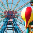 Stock Photo: NEW YORK - JUNE 27: Coney Island's Wonder Wheel on June 27, 2012