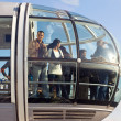 LONDON, UNITED KINGDOM - MAY 31: Detail of London Eye's cabins o - ストック写真