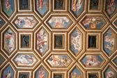 Palazzo te antiguo techo, mantua, italia — Foto de Stock