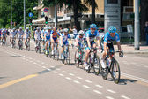 BOLOGNA, ITALY - MAY 10: The Tour of Italy passing through Bolog — Stock Photo