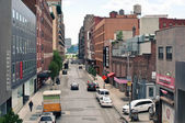 NEW YORK CITY - JUN 24: View from the High Line Park in NYC on J — Stock Photo
