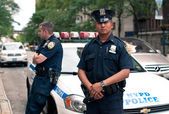 NEW YORK CITY - JUN 27: NYPD Police officers in NYC on June 27, — Stock Photo