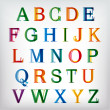 Royalty-Free Stock Vector Image: Colorful alphabet set. Vector