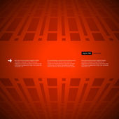 Red background with room for text — Stock Vector