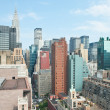 New York City: view over Manhattan — Stock Photo