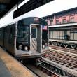 New York City subway station of Marcy avenue, Brooklyn — Stock Photo #14831077