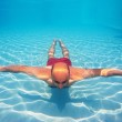 Underwater man in a swimming pool — Stock Photo #14831253