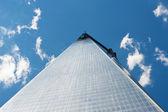 NEW YORK - JUNE 25: Freedom Tower - World Trade Center - under c — Stock Photo