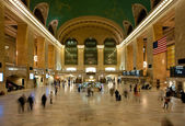 NEW YORK CITY - JUNE 26: Main hall of Grand Central Station June — Stock Photo