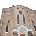 San Francesco church. Bologna, Italy — Stock Photo