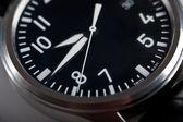 Aviator classic wrist watch — Stock Photo