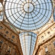 Galleria Vittorio Emanuele II shopping gallery. Milan, Italy — Stock Photo