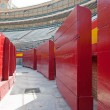 Interior view of Plaza de toros (bullring) in Valencia, Spain. T — Stock Photo