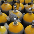 Stock Photo: Oxygen Tanks for ScubDiving