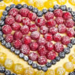 Fruit pie background. Shallow depth of field — Stock Photo