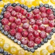 Stock Photo: Fruit pie background. Shallow depth of field