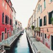 Typical street of Venice, Italy — Stock Photo