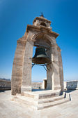 Bell of the Micalet bell tower cathedral in Valencia, Spain — Stock Photo