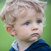 Small kid portrait — Stock Photo