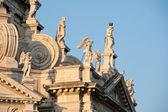 Details of Basilica Santa Maria della Salute at sunshine. Venice, Italy — Stock Photo