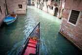 Typical Gondola in Venice, Italy — Stock Photo