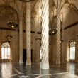 Interior view of the Old Silk Exchange (Lonja de la Seda), Valen - Stock Photo