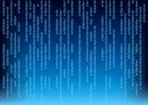 Digital binary background screen — Stock Photo
