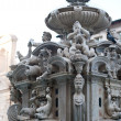 Fountain in Cesena square, Italy - Foto de Stock