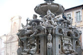 Fountain in Cesena square, Italy — Stock Photo
