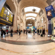 MILANO, ITALY - FEB 28: Central railway station on Feb 28, 2012 — 图库照片