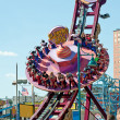 Stock Photo: NEW YORK - JUNE 27: Coney Islands Electro Spinp