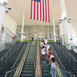 NEW YORK - JULY 2: inside the entrance of Staten Island Ferry - Stock Photo