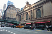 NEW YORK CITY - JUNE 29: Grand Central Station along 42nd Street — Stock Photo