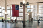 NEW YORK - JULY 2: inside the entrance of Staten Island Ferry — Stock Photo