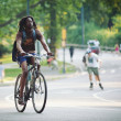 NEW YORK - JULY 1: enjoying outdoor activities in Central Park in New York — ストック写真