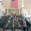 NEW YORK - JULY 2: inside the entrance of Staten Island Ferry on July 2, 2012 in NY. - Stock Photo