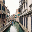Typical canal of Venice, Italy. — Stock Photo #21629481