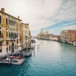 Grand canal and Santa Maria della Salute, Venice, Italy.  — Stock Photo