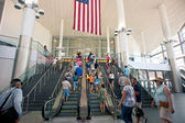 NEW YORK - JULY 2: inside the entrance of Staten Island Ferry on July 2, 2012 in NY. — Stock Photo