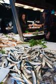 Rialto fish market - Venice, Italy. — Stock Photo