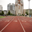 NEW YORK - JUNE 30: Running Tracks in McCarren Park on June 30, 2012 in New York. — Stock Photo