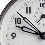 oude alarm klok close-up — Stockfoto