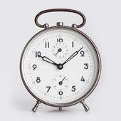 Old Alarm Clock isolated on white background. — Stock Photo
