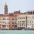 Buildings in front of Grand canal. Venice, Italy. — Stock Photo #42131023