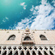Doge's Palace, unesco world heritage. Venice, Italy. — Stock Photo