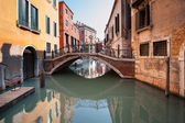 Typical canal of Venice, Italy.  — Stock Photo