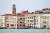 Buildings in front of Grand canal. Venice, Italy.  — Stock Photo