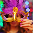 Stockfoto: Christmas mask