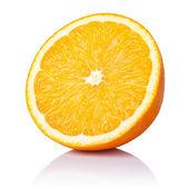 半分はオレンジ色 — ストック写真