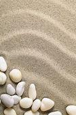 Fond sable — Photo